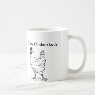 Gekke Kip Dame Coffee Mug Koffiemok