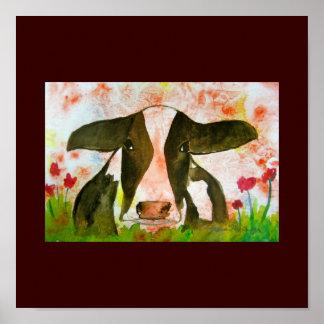 Gekke koe-Poster Poster