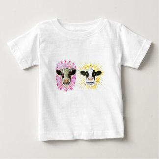 Gekke Koeien Baby T Shirts