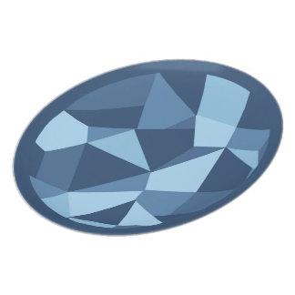 Gekke lapwerk geometrische vormen bord