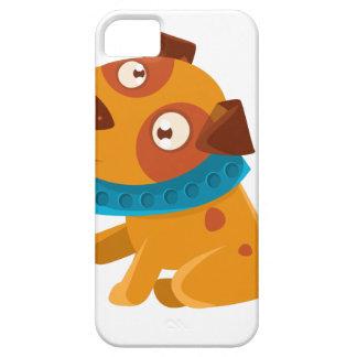 Gekke Puppy met Hand Klaar om te gaan voor Barely There iPhone 5 Hoesje