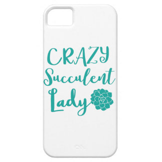 gekke succulente dame barely there iPhone 5 hoesje