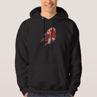 gekke superhero caped super lapje vlees hoodie
