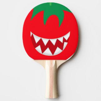 Gekke tomaat tafeltennis bat