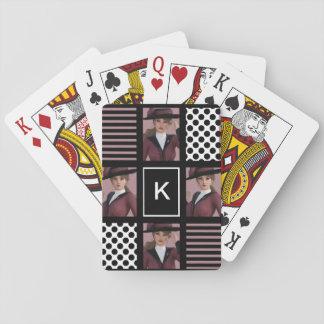 Geklede Fashionably Pokerkaarten