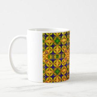 Gekleurd Patroon 22 Koffiemok