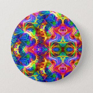 Gekleurd Ronde Button 7,6 Cm