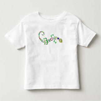 gekleurde hagedis Stammen Kinder Shirts