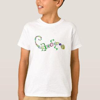 gekleurde hagedis Stammen T Shirt