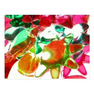 Gekleurde Lichten Briefkaart