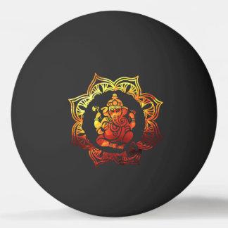 Gekleurde Meditatie Pingpongbal