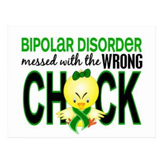 Geknoeid met de Verkeerde Bipolaire Wanorde van Briefkaart