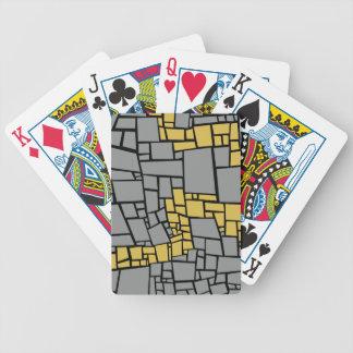gekozen weg, gevolgde baksteenweg pak kaarten