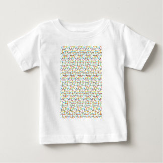 Gekrabbelde Eenhoorns Baby T Shirts