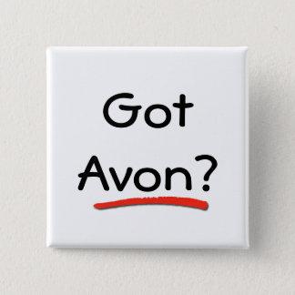 Gekregen Avon? Knoop Vierkante Button 5,1 Cm