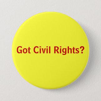 Gekregen Burgerrechten? Ronde Button 7,6 Cm