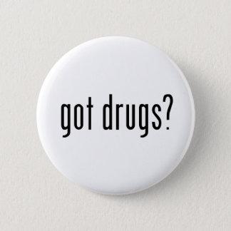 gekregen drugs? ronde button 5,7 cm