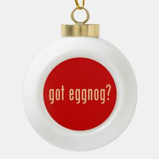 gekregen eierpunch? keramische bal ornament