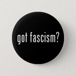 Gekregen Fascisme? Knoop Ronde Button 5,7 Cm