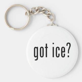gekregen ijs? basic ronde button sleutelhanger