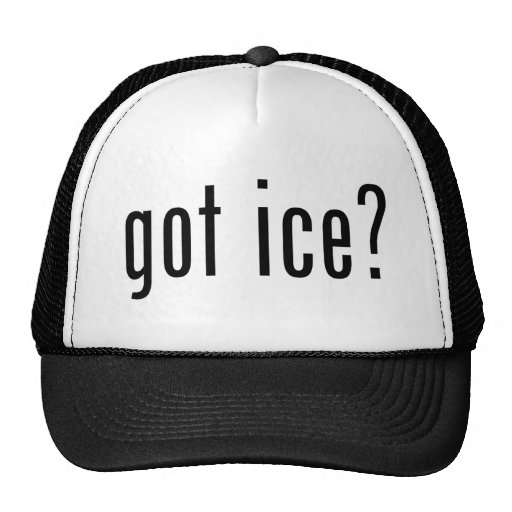gekregen ijs? trucker pet