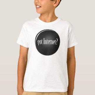 """""""Gekregen Internet"""", Internet, tekst Geworden T Shirt"""