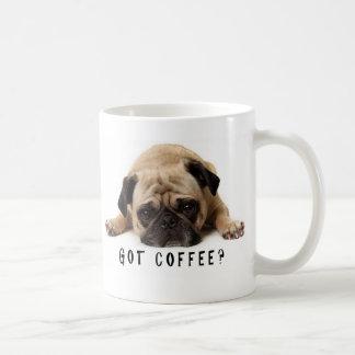Gekregen Koffie? Pug mok