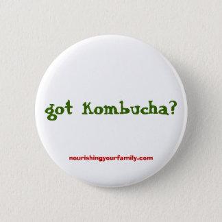 gekregen kombucha? , nourishingyourfamily.com ronde button 5,7 cm