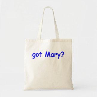 gekregen Mary? Draagtas
