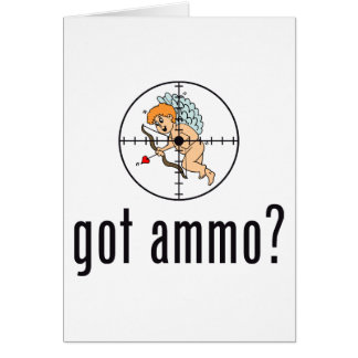 gekregen munitie? (Anti-Valentijnse Dag) Briefkaarten 0