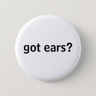 gekregen oren? knoop ronde button 5,7 cm