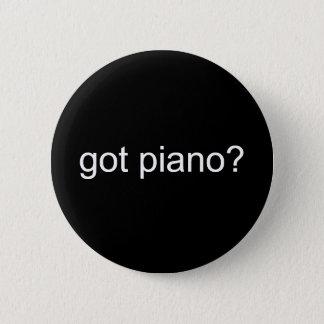 gekregen piano? - Aangepast Ronde Button 5,7 Cm
