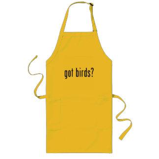 gekregen vogels? lang schort