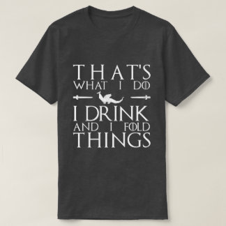 Gekregen Vouwen (witte tekst) T Shirt