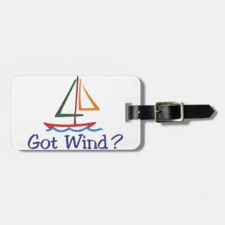 Gekregen Wind? Bagagelabel