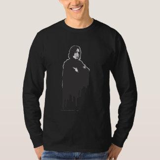 Gekruiste B-W van Snape van Severus Wapens T Shirt