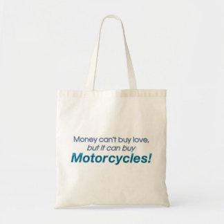 Geld & Motorfietsen Canvas Tas