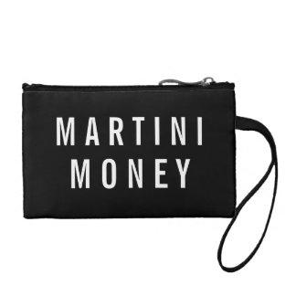 Geld | van martini Zwart & Wit Citaat Kleingeld Portemonneetje
