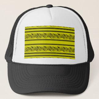 Gele barbwire trucker pet