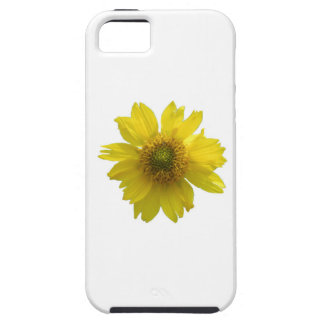 Gele Bloem Tough iPhone 5 Hoesje