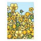Gele Boterbloemen Kaart