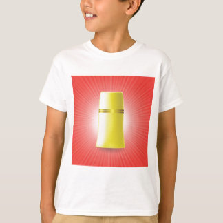 Gele Buis T Shirt