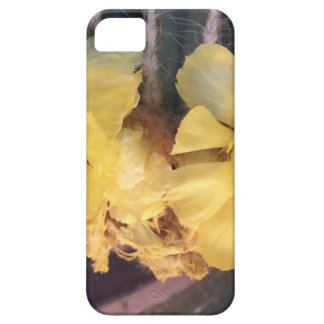 Gele cactusbloem barely there iPhone 5 hoesje