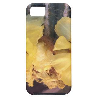 Gele cactusbloem tough iPhone 5 hoesje