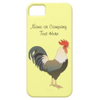 Gele Dier van het Boerderij van de Haan van de dou Barely There iPhone 5 Hoesje
