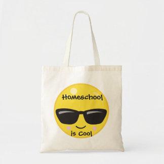 Gele Emoji Homeschool is Koel Draagtas