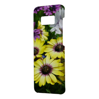 Gele en Paarse Bloemen Case-Mate Samsung Galaxy S8 Hoesje
