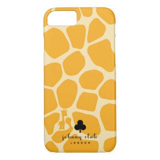 (Gele) giraf iPhone 8/7 Hoesje