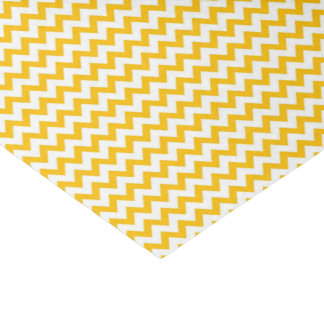 Gele Glanzende Druk Tissuepapier