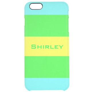 Gele, Groene, Blauwe Brede Strepen door Shirley